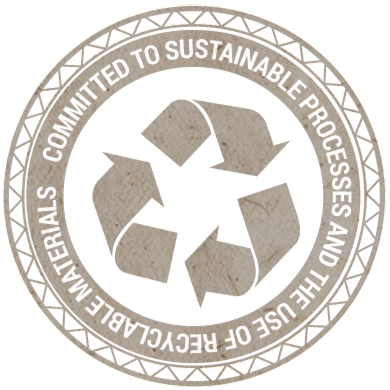 Committed to Sustainable Processes and the Use of Recyclable Materials